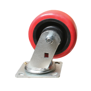 "5"" Light/Medium Duty Rubber Swivel Caster"
