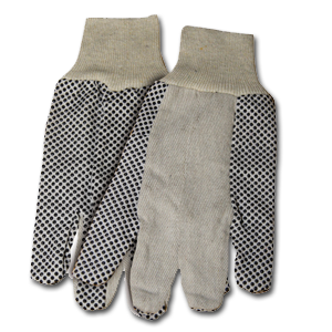 Dotted Canvas Glove