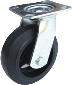 "5"" Medium/Heavy Duty Swivel Protec Caster"