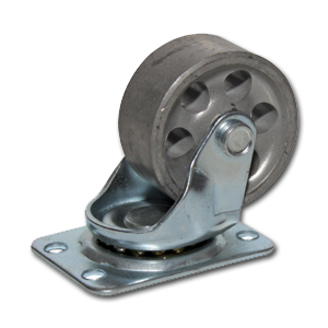 "Steel Swivel Caster Wheel 2-1/2"", Capacity up to 200 lbs"
