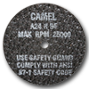 "Camel 35502 3""x1/16""x1/4"" T1 Hi Speed Reinforced Cut Off Wheel"