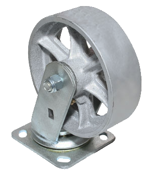 "5"" Medium/Heavy Duty Swivel Semi-Steel Caster"