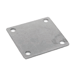"5"" x 5"" Baseplate with Holes"
