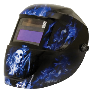 Carrera Welding Helmet Blue Doom