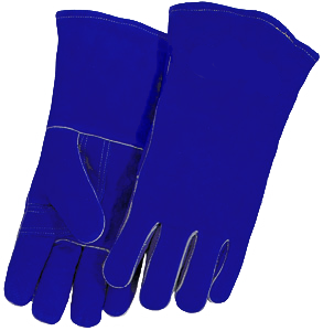 Caiman Welding Gloves • BLUE