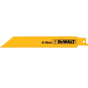 DeWALT DW4808B Bi-Metal Reciprocating Saw 14T