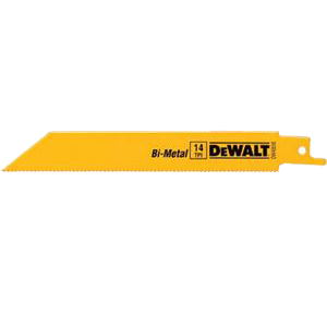 DeWALT DW4811B Bi-Metal Reciprocating Saw 18T