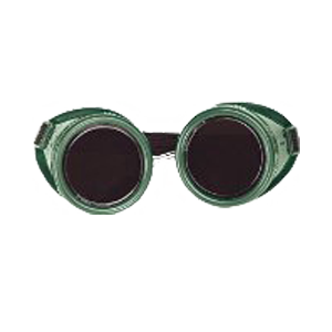 Cup Type Goggles with Shade 5 Lens