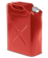 Red 5 Gallon Utility Tank